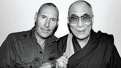The Dalai Lama With the Dalai Lama in Frankfurt, 2008