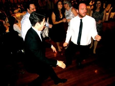 Nick Jonas DANCING At Garbo's Wedding