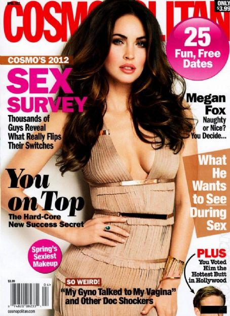 Megan Fox Cosmopolitan US April 2012