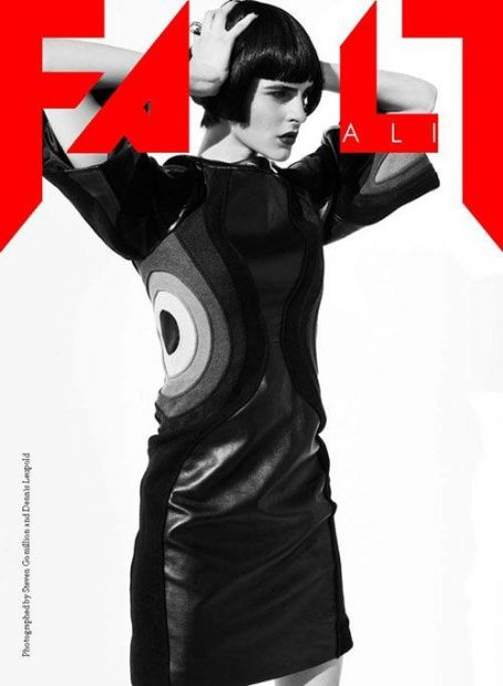 Ali Lohan Covers Fault Magazine