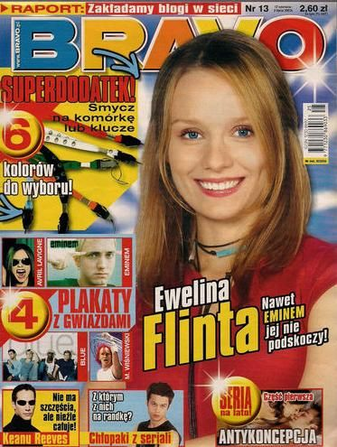 Ewelina Flinta - Bravo Magazine Cover [Poland] (17 June 2003)