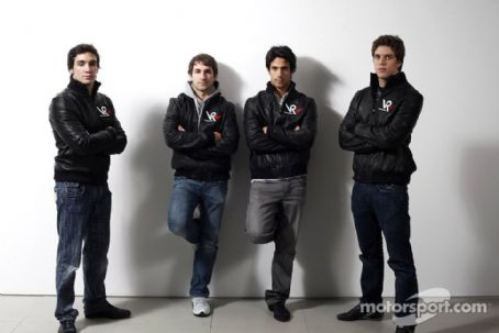 Lucas di Grassi - 2009 Virgin Racing team launch