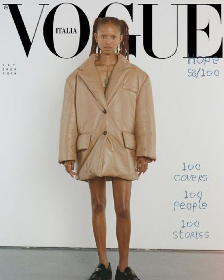 Adesuwa Aighewi - Vogue Magazine Cover [Italy] (September 2020)
