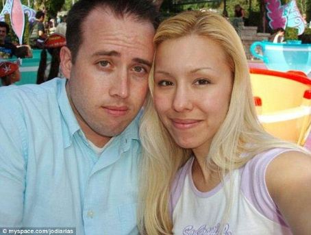 Jodi Arias  and Travis Alexander at Disneyland