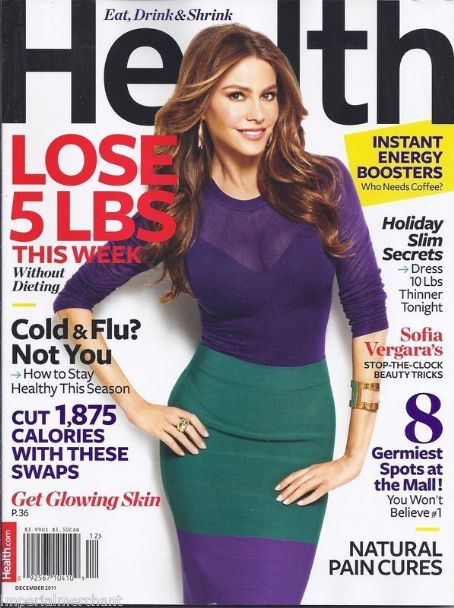 Sofía Vergara - Health Magazine Cover [United States] (December 2011)