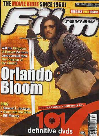 Orlando Bloom - Film Review Magazine [United Kingdom] (March 2005)