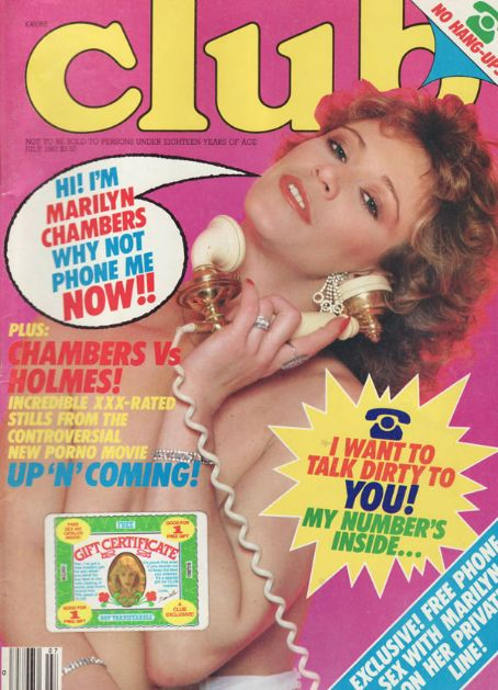 Marilyn Chambers - Club Magazine [United States] (July 1983)
