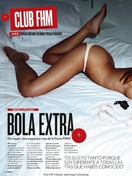 Danica Thrall  - FHM Spain - October 2010
