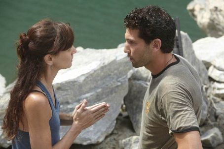 Sarah Wayne Callies and Jon Bernthal The Walking Dead (2010)