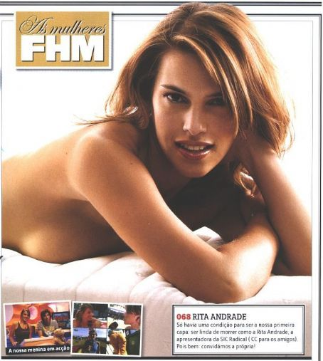 Rita Andrade - FHM Magazine Pictorial [Portugal] (April 2005)