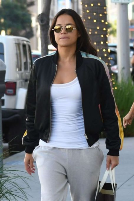 Michelle Rodriguez – Shopping candids at Morgenthal Frederics In Beverly Hills