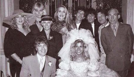 Mick Jagger - Bill Wyman's wedding to Mandy Smith