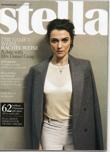 Rachel Weisz - Stella Magazine Cover [United Kingdom] (20 November 2011)