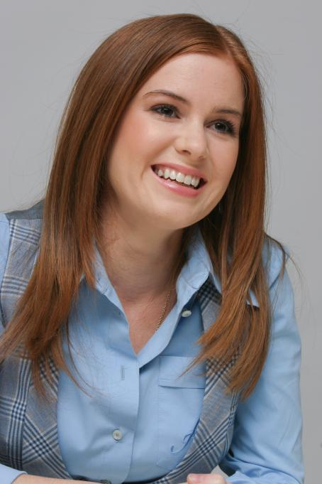 "Isla Fisher - Munawar Hosain portraits at ""The Lookout"" Press Conference at the Four Season's Hotel in Beverly Hills, 17.03.2007"