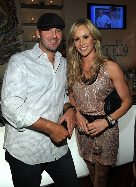 Candice Crawford Candice Crowfod and Tony Romo
