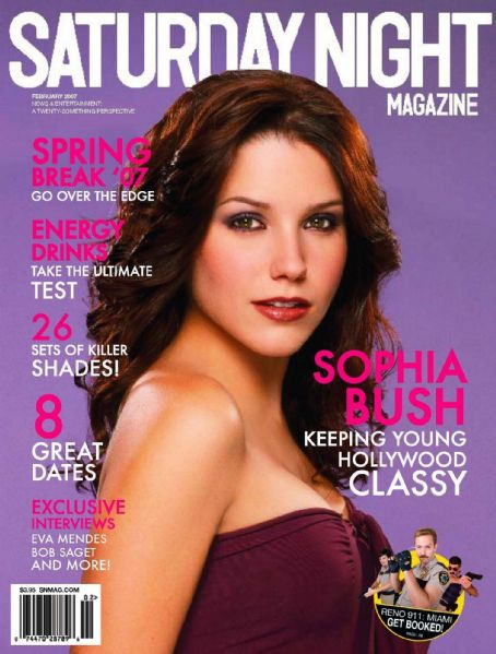 Sophia Bush - Saturday Night Magazine Cover [United States] (February 2007)