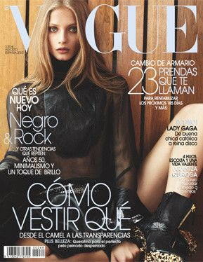 Anna Selezneva - Vogue Magazine [Spain] (August 2010)