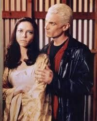 Juliet Landau James Marsters As Spike And  As Drusilla In Buffy - The Vampire Slayer