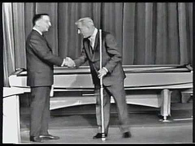 Garry Moore  & Willie Mosconi on I've Got  a Secret 1962