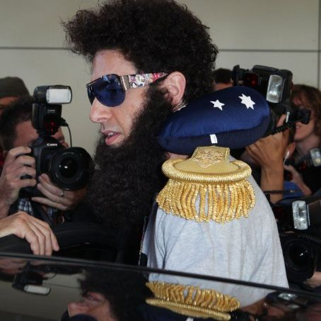 """The Dictator"" Arrives In Sydney"