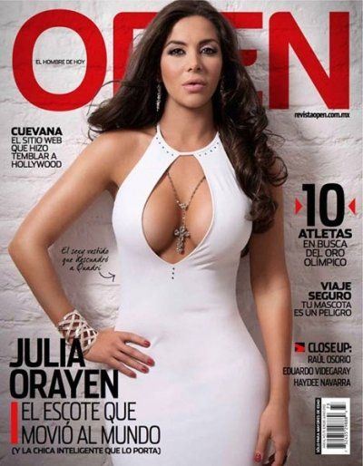 Julia Orayen  Sexy For Open Magazine Mexico