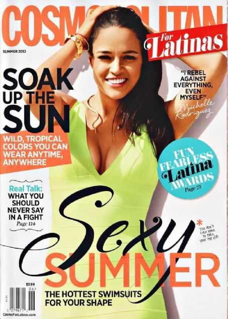 Michelle Rodriguez - Cosmopolitan For Latinas Magazine Cover [United States] (June 2013)