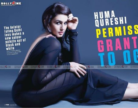 Huma Qureshi  FHM India September 2012