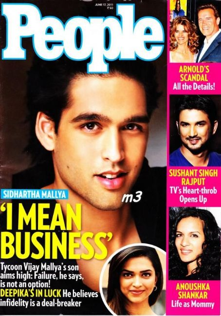 Siddharth Mallya  - People Magazine Pictorial [India] (17 June 2011)