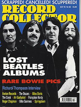 Ringo Starr - Record Collector Magazine [United Kingdom] (March 2003)