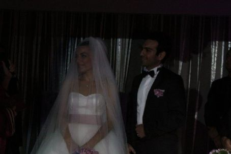 Bugra Gülsoy Burcu Kara and  Married