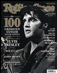 Elvis Presley - Rolling Stone Magazine [Germany] (February 2009)