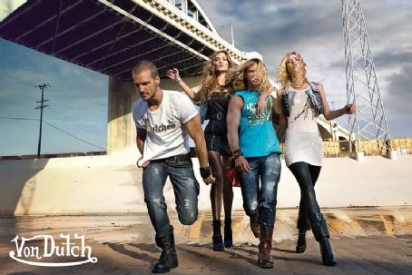 Lisa Seiffert - Various Campaigns  Von Dutch S/S 10