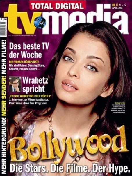 Aishwarya Rai - TV Magazine Cover [United States] (9 April 2011)