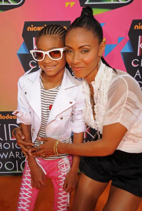 Jada Pinkett Smith - Jada Smith - Nickelodeon's 23 Annual Kids' Choice Awards Held At UCLA's Pauley Pavilion On March 27, 2010 In Los Angeles, California