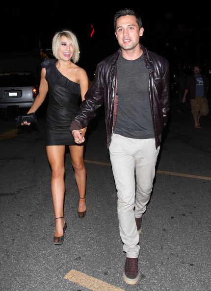 Chelsea Kane and her boyfriend Stephen Colletti were spotted out in Hollywood last night.