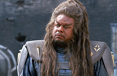Battlefield Earth: A Saga of the Year 3000 Forest Whitaker as Ker in Warner Brothers' Battlefield Earth - 2000
