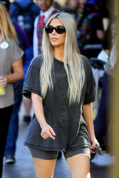 Kim Kardashian out in Anaheim