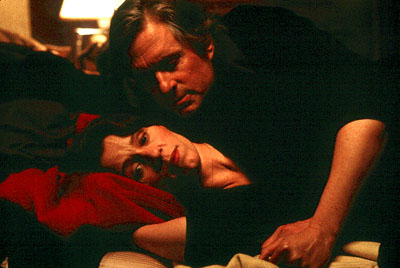 Michael Douglas as Grady Tripp and Frances McDormand as Sara Gaskell in Paramount's Wonder Boys - 2/2000