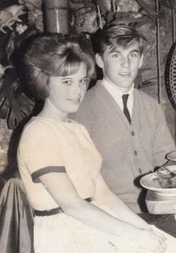 Judi Gable and Dennis Wilson