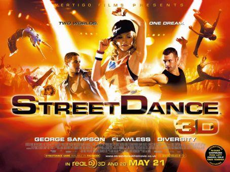Nichola Burley Streetdance 3D Poster Quad