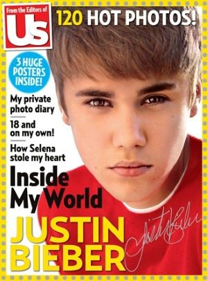 Justin Bieber Us Weekly May 11, 2012