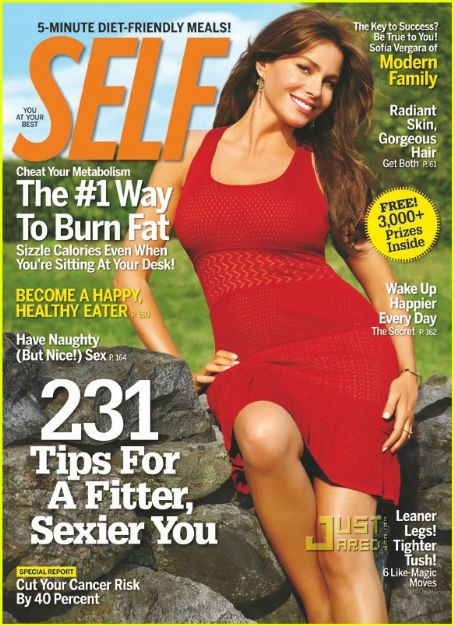 Sofia Vergara - Self Magazine [United States] (October 2010)