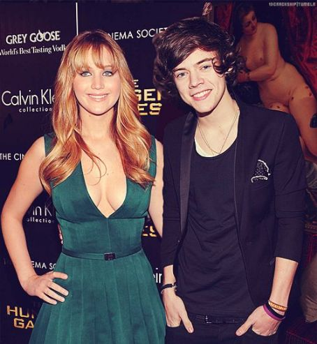 Harry Styles And Jennifer Lawrence Harry Styles Has the Hots For
