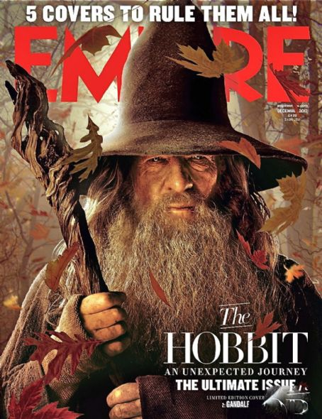 Ian McKellen - Empire Magazine Cover [United Kingdom] (1 December 2012)