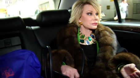 Joan Rivers  in JOAN RIVERS – A PIECE OF WORK directed by Ricki Stern and Annie Sundberg. Photo Credit: Seth Keal. An IFC Films release