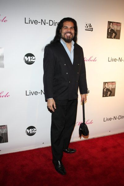 Cheryl Bachman Jose Hernandez, Jr. Attends The Chrissette Michele Red Carpet CD Release Party
