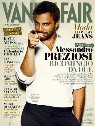 Alessandro Preziosi - Vanity Fair Magazine Cover [Italy] (30 August 2011)