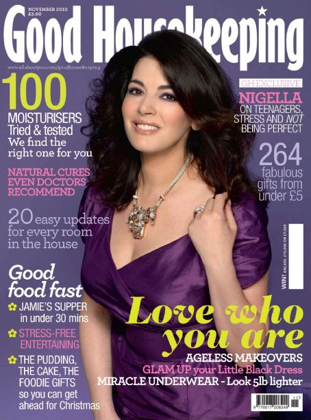 Nigella Lawson - Good Housekeeping Magazine [United Kingdom] (November 2010)