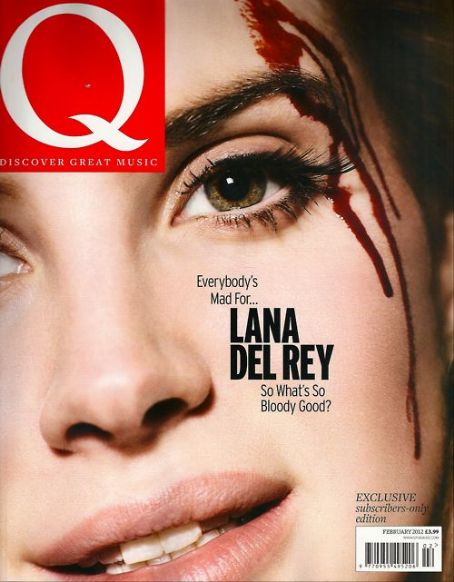 Lana Del Rey  - Q Magazine Pictorial [United Kingdom] (February 2012)