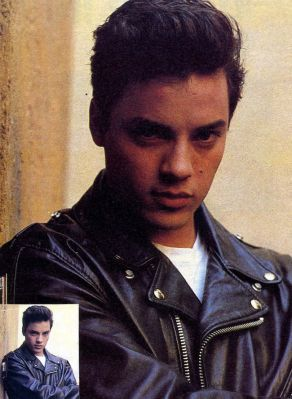 Nick Kamen , lether jacket